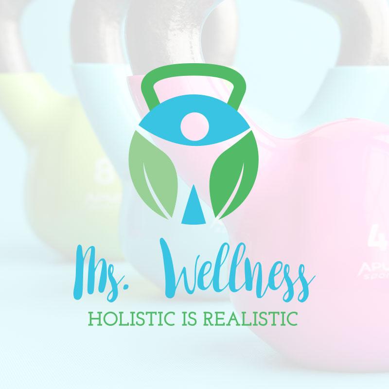 Roswell, Georgia Logo Design - Ms Wellness - Big Red Design Co